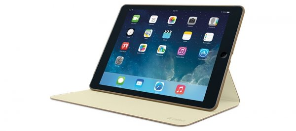 Logitech Hinge flexible Case iPad Air braun