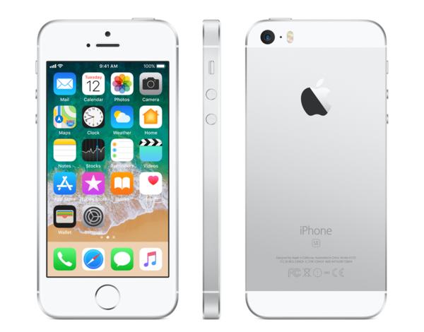 Apple iPhone SE 16GB silver R-NEW