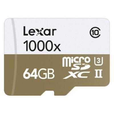 Lexar microSDHC 1000x       64GB UHS-II mit USB 3.0 Reader