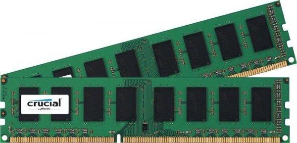 Crucial 8GB Kit DDR3L 1600 MT/s 4GBx2 UDIMM 240pin single