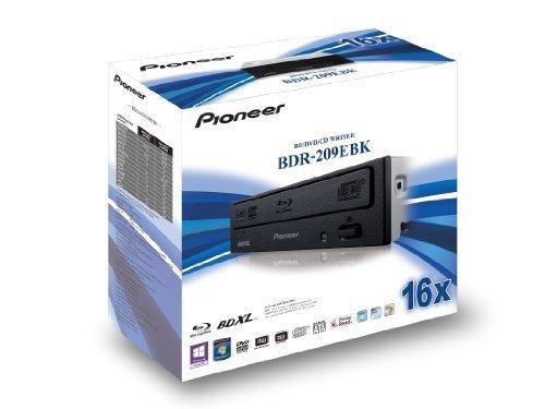 Pioneer BDR-209EBK, Nagrywarka Blu ray czarny, Bulk Version, Bulk