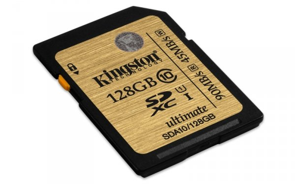 Kingston SD SDXC Card UHS-I 128 GB Class 10
