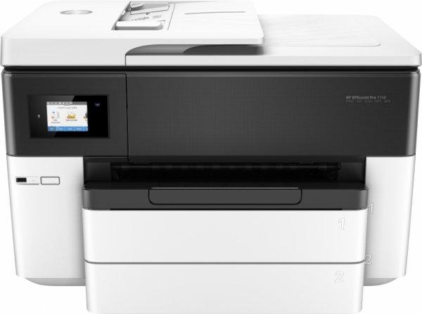 HP OfficeJet 7740 All-in-One, Urzadzenie wielofunkcyjne /USB, LAN, WiFI, Scan, Kopie, Fax