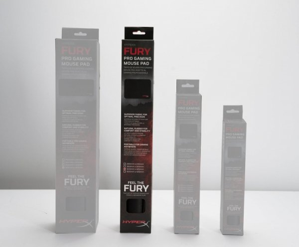 Kingston HyperX Fury Pro Gaming Podkładka L - czarna