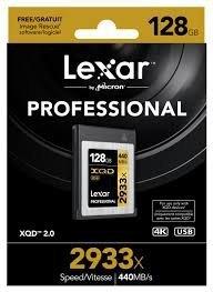 Lexar XQD Card 128GB 2933x Professional karta pamięci
