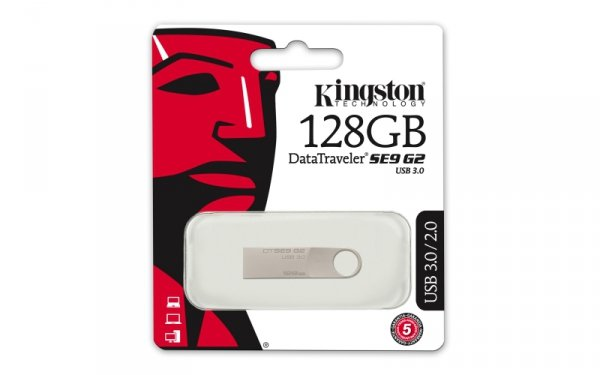 Kingston DataTraveler SE9 G2 128 GB - pendrive