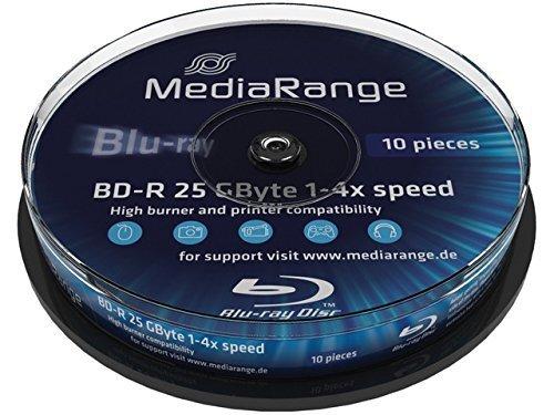 MediaRange BD-R 25GB 4x, 10 szt.