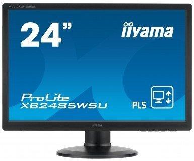 iiyama ProLite XB2485WSU-B3, czarny, DisplayPort, DVI-D (HDCP), Sound, Pivot