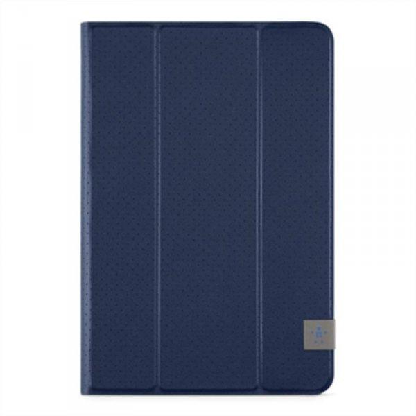 Belkin TriFold Cover 8  Univers. +iPad Mini 2,3,4 bl. F7N323btC02