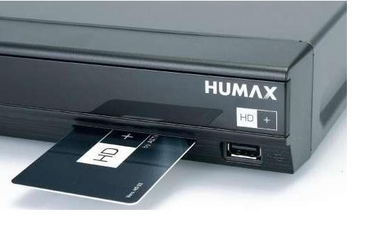 Humax iCord Pro 500GB w tym HD+ karta