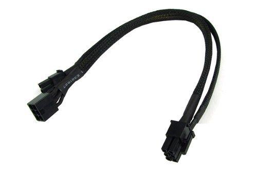 Phobya PCI-E przejściówka 6pin -> 6+2Pin