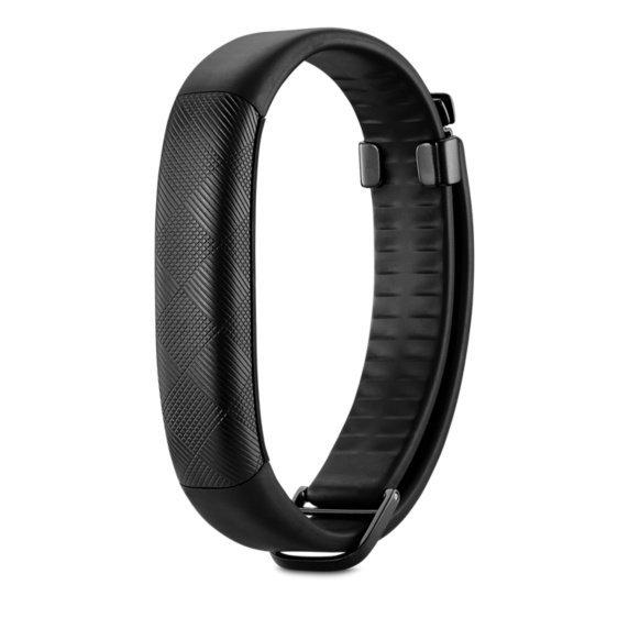 Jawbone UP2, opaska monitor aktywności czarny, Bluetooth 4.0