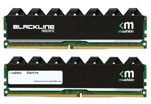 Mushkin DDR3 16GB 1600 Kit - 997069F - Blackline