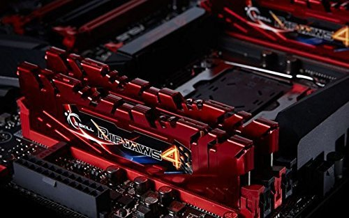 G.Skill 16GB DDR4-2800 Kit, czerwony F4-2800C16D-16GRR, Ripjaws 4