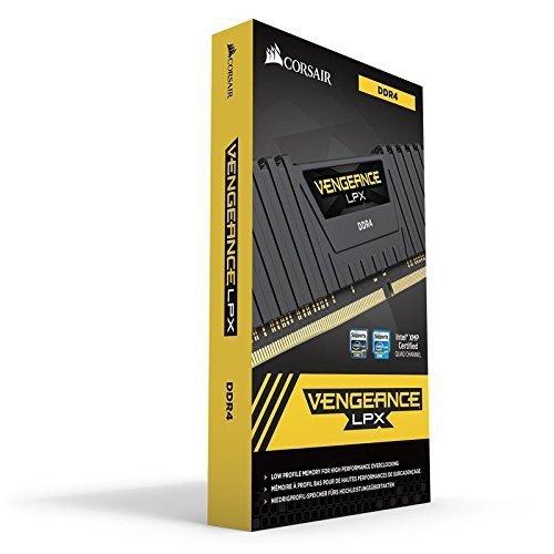 Corsair  16GB DDR4-2800 Kit, czarny, CMK16GX4M2A2800C16, Vengeance LPX