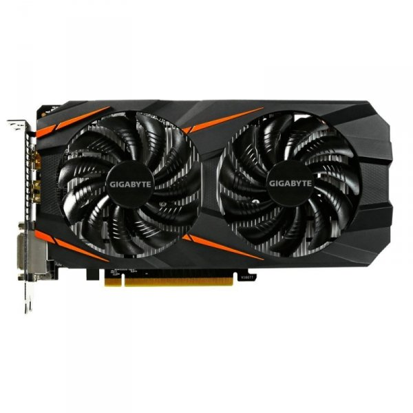 GIGABYTE GeForce GTX 1060 Windforce OC 3G, HDMI, DisplayPort, 2x DVI-D