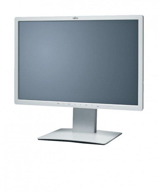 Fujitsu B24W-7, jasnyszary, DisplayPort, DVI-D (HDCP), USB, Pivot