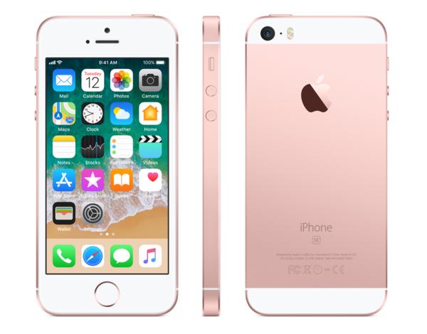 Apple iPhone SE 64GB rose gold R-NEW