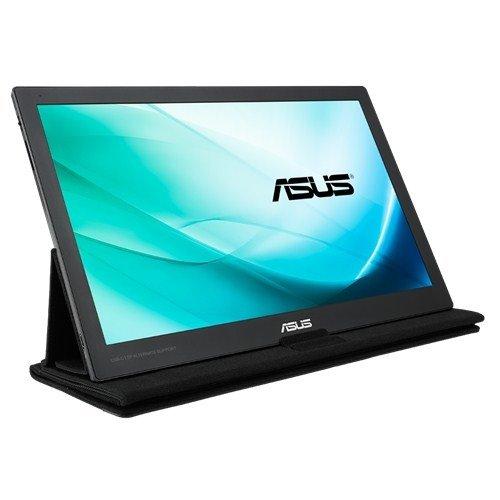 ASUS MB169C+, srebrny/czarny, tragbar, USB-C, DisplayPort