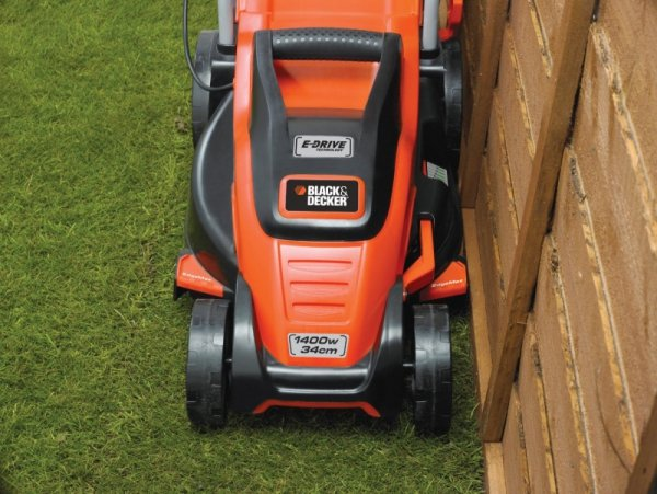 Black&Decker Kosiarka EMAX34s 1400W orange