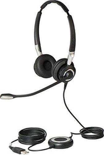 Jabra BIZ 2400 II Duo, 446 czarny, Bedienelement, MS Lync/Skype
