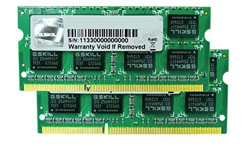 G.Skill SO-DIMM 8 GB DDR3-1333 Kit,F3-1333C9D-8GSA