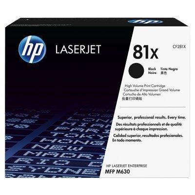 Toner HP CF281X Black LaserJet TonerCart