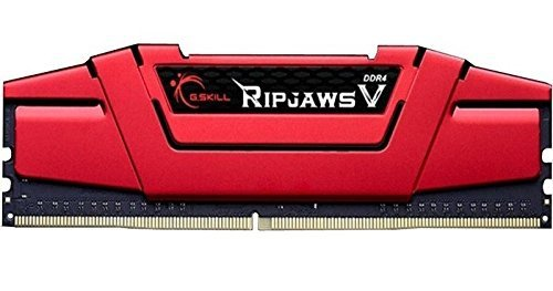 G.Skill 16GB DDR4-2800 Quad-Kit, czerwony F4-2800C15Q-16GVRB, Ripjaws V