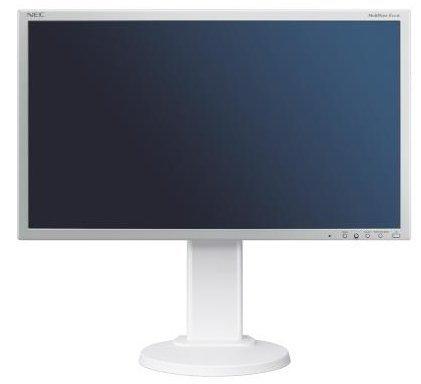 NEC MultiSync EA275WMi, biały, HDMI, DVI, DisplayPort, USB-Hub, Pivot