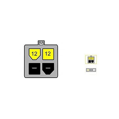DeLOCK Adapter Molex 4-pin -P4 - 15 cm