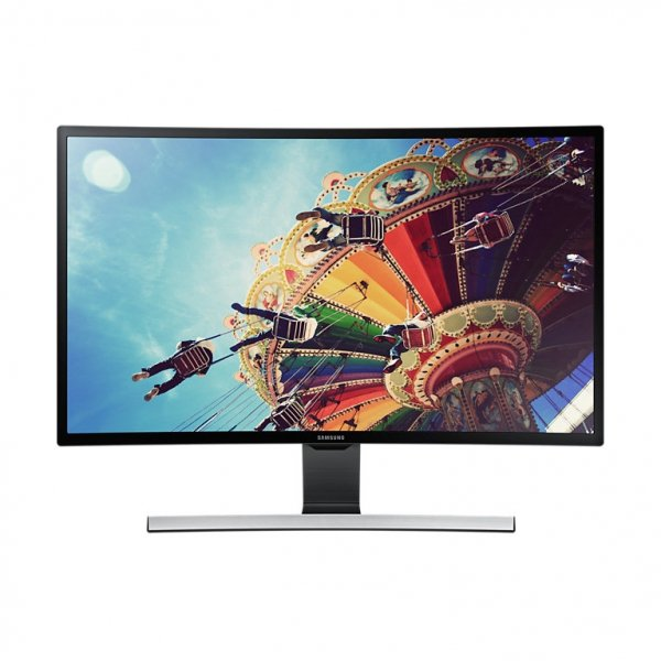 Samsung T27D590CW LED, czarny, HDMI, VGA, SCART, USB, Audio, Curved