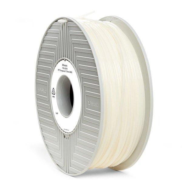Verbatim 3D Printer Filament PET 1,75 mm 500 g transparent