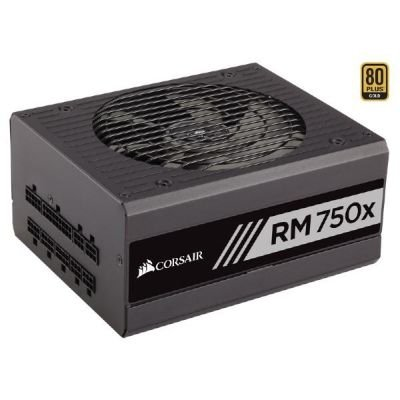 Corsair RM750X 750W, czarny, 4x PCIe, Kabel-Management