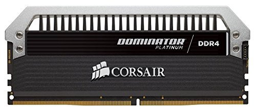 Corsair  32 GB DDR4-3333 Quad-Kit, CMD64GX4M4B3333C16, Dominator Platinum