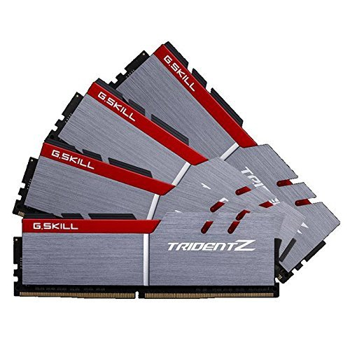 G.Skill 16GB DDR4-3733 Quad-Kit, F4-3733C17Q-16GTZ, Trident Z