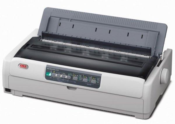 Oki ML5721eco, drukarka igłowa PAR/USB