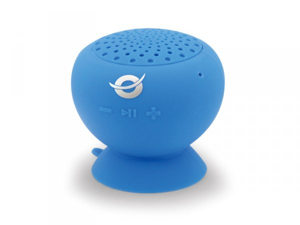 Conceptronic Wireless waterproof Suction Speaker blue