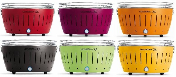 LotusGrill XL Lime gray antrazit