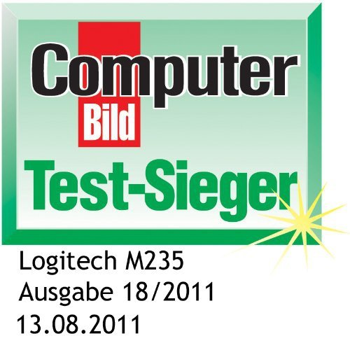 Logitech WL Mouse M235 czerwona