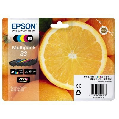 Epson Tusze Multipack C13T33374010