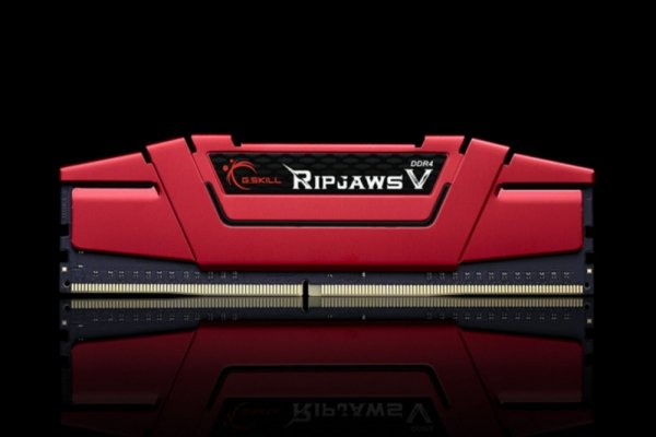 G.Skill 16GB DDR4-3000 Kit, czerwony F4-3000C15D-16GVR, Ripjaws V