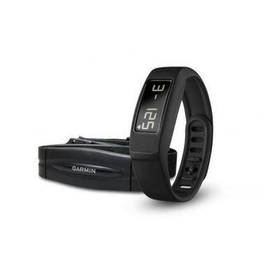 Garmin 010-01407-30 Vivofit 2 HRM Fitness Tracker z pomiarem pulsu czarny