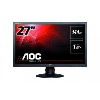 AOC G2770PF, czarny, HDMI, DVI, DisplayPort, VGA, USB, Pivot