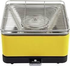 Feuerdesign Teide stołowy grill węglowy żółty