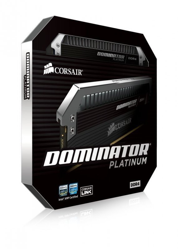 Corsair  32GB DDR4-2666 Kit, CMD32GX4M2A2666C15, Dominator Platinum
