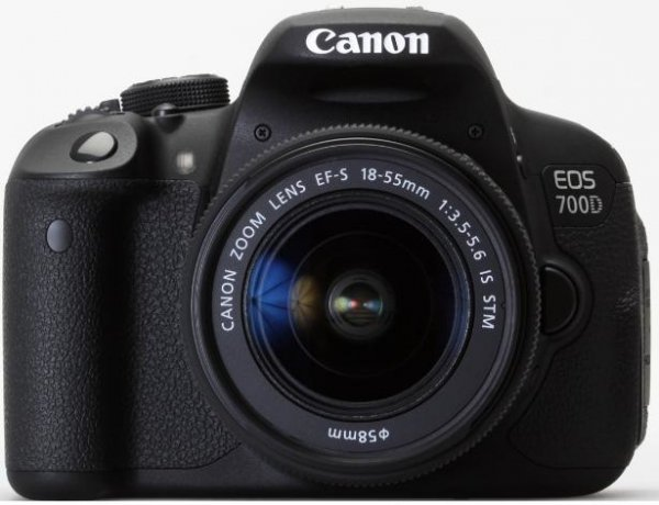 Canon EOS 700D Kit 18-55mm 1:3,5-5,6 IS STM