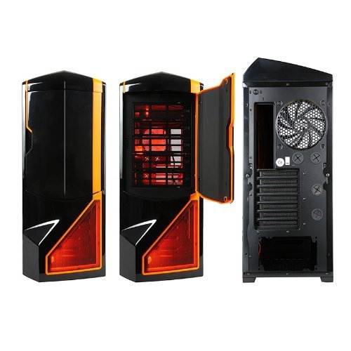 NZXT Phantom czarny/orange, Big-Tower czarny