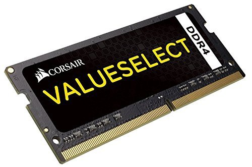 Corsair ValueSelect SO-DIMM 8GB DDR4-2133, CMSO8GX4M1A2133C15, Value Select