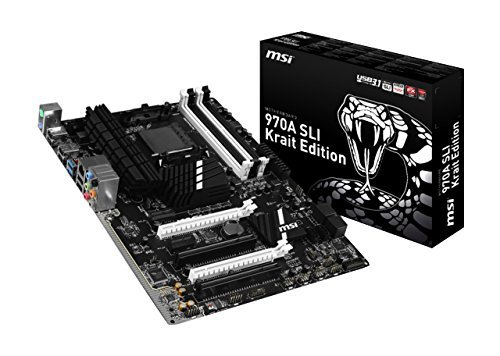 MSI 970A SLI Krait Edition - AM3+