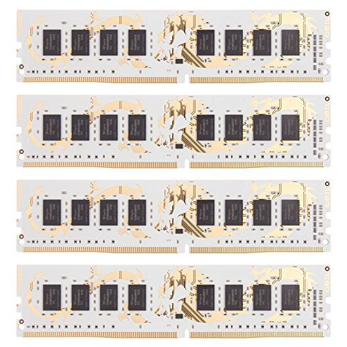 GeIL 32GB DDR4-2400 Quad-Kit, czarny, GWB432GB2400C14QC, Dragon RAM